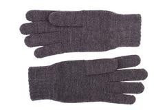 Перчатки шерстей Стоковые Фото