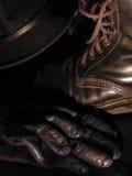 Перчатки шляпы ботинка Стоковое фото RF