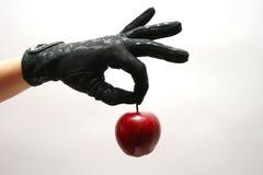 перчатки яблока Стоковая Фотография