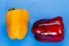 перчит красный сладостный желтый цвет Стоковая Фотография RF