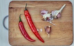 Перчит овощ, свежий, chili, варя стоковая фотография