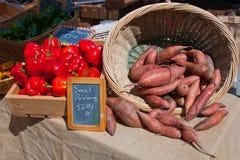 перчит помадку картошек красную Стоковые Фотографии RF