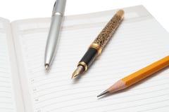 перя карандаша Стоковые Фотографии RF