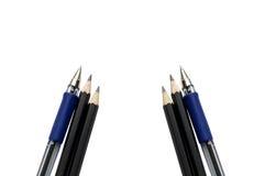 перя карандашей Стоковые Изображения RF