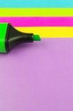 пер бумаги отметки цвета Стоковые Изображения