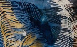 Пер, горячий батик, текстура предпосылки, handmade на шелке стоковые фото