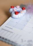 пер календара Стоковая Фотография RF
