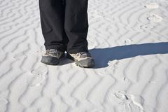 пески памятника национальные белые Стоковые Фото