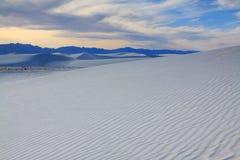 пески памятника национальные белые Стоковые Фотографии RF