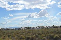пески памятника национальные белые стоковое фото