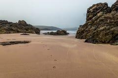 Пески Sango, пляж Durness стоковое изображение rf