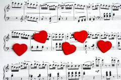 песня о любви Стоковые Изображения