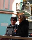 песня 2009 итальянки празднества Стоковое фото RF