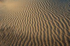 песок абстрактного backgound горизонтальный Стоковые Фото