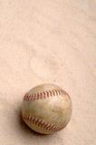 песок бейсбола Стоковая Фотография RF