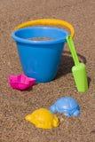 песок ведра Стоковые Фотографии RF