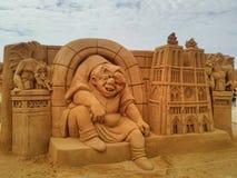 Песок волшебное Ostende Дисней - развалина стоковые изображения rf