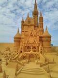 Песок волшебное Ostende Дисней - развалина стоковая фотография rf