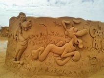 Песок волшебное Ostende Дисней - развалина Стоковое Фото