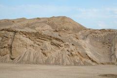 песок высокого ряда дюны динамически Стоковая Фотография