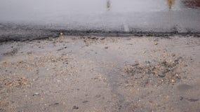 песок влажный Стоковые Фото