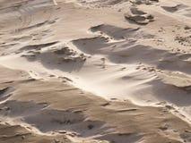 Песок в штормовой погоде Стоковые Фото