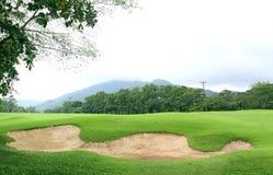 песок гольфа курса дзота Стоковые Изображения RF