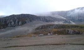Песок горы одиночный стоковые фотографии rf