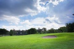 песок гольфа курса дзота Стоковое фото RF