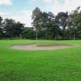 песок гольфа курса дзота Стоковые Фотографии RF