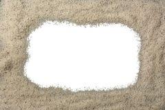 песок граници стоковое изображение