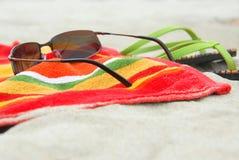 песок деталей пляжа Стоковая Фотография RF