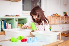 песок детских игр Стоковое Фото