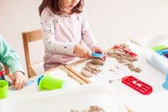 песок детских игр Стоковое фото RF