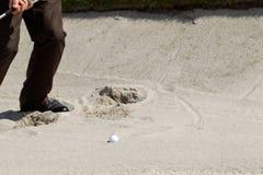песок дзота Стоковое Изображение