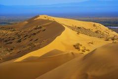 песок дюны пустыни стоковое изображение
