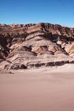 песок дюн пустыни atacama Стоковая Фотография RF