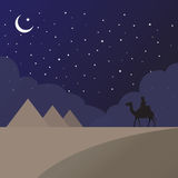 Песок Египта Стоковое Изображение