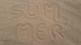 Песок лета Стоковые Изображения