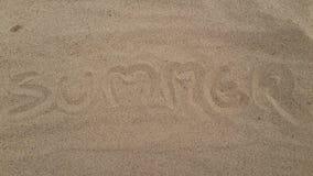 Песок лета Стоковое Фото