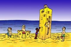 песок замока бесплатная иллюстрация
