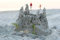 песок замока Стоковые Фото