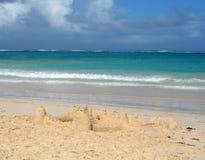 песок замока Стоковая Фотография