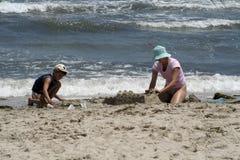 песок замока стоковое фото rf