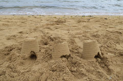 песок замоков Стоковое Фото
