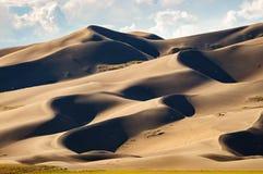 песок заповедника национального парка дюн большой Стоковая Фотография RF
