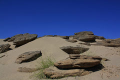 Песок и камень, Таиланд Стоковые Фотографии RF