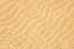 Песок и море Стоковые Изображения