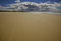 Песок и небо на острове Fraser Стоковое Фото