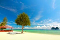 песок и пляж моря Стоковая Фотография RF